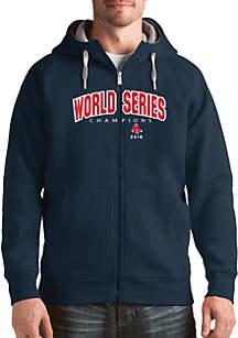 MLB 2018 World Series Champions Boston Red Sox Victory Zip Jacket