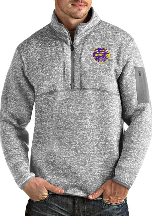 NCAA LSU Tigers 2020 National Champions Pullover