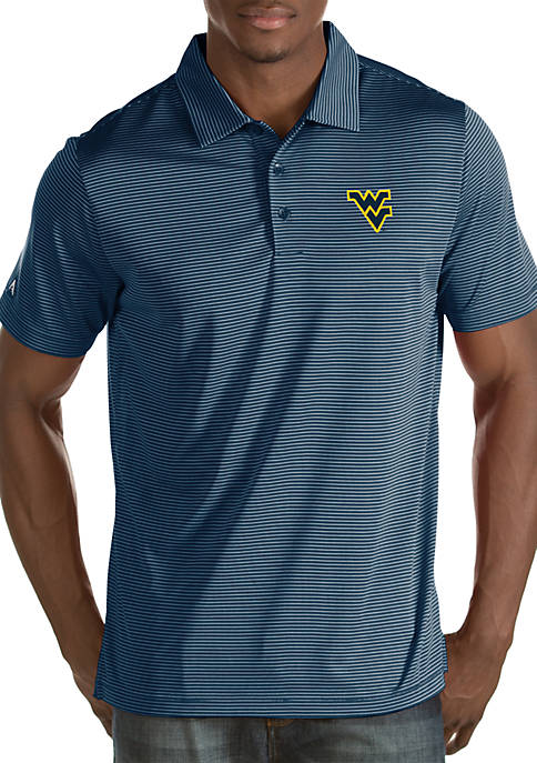 Antigua® West Virginia Mountaineers Quest Polo