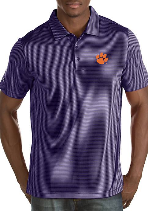 Antigua® Clemson Tigers Quest Polo