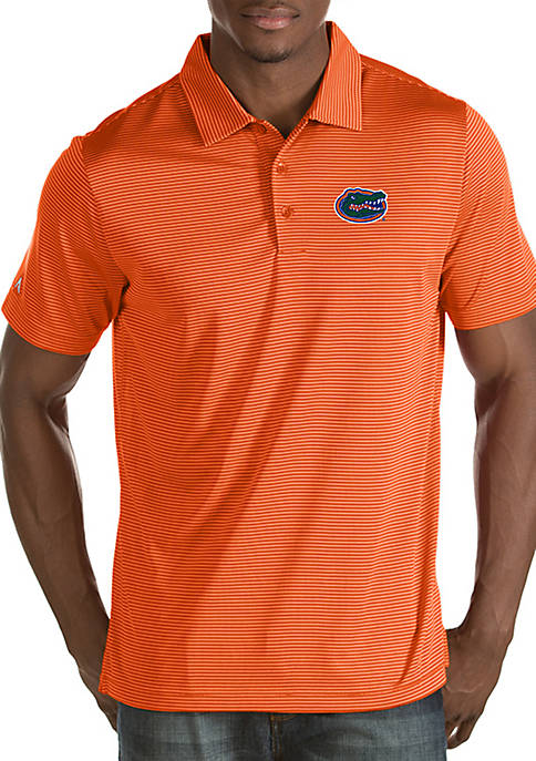 Antigua® Florida Gators Quest Short Sleeve Polo