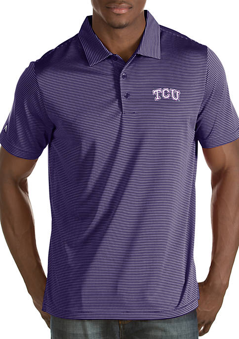 Texas Christian University Horned Frogs Mens Quest Polo