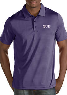 Antigua® Texas Christian University Horned Frogs Mens Quest Polo