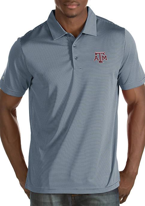 Texas A&M Aggies Mens Quest Polo