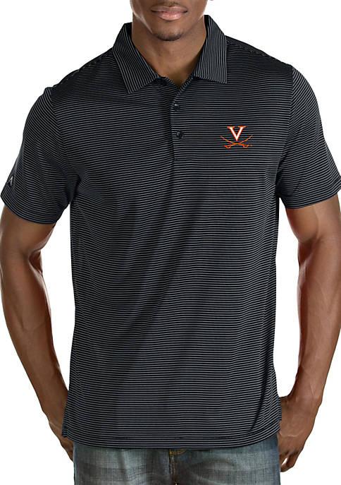 Antigua® Virginia Cavaliers Quest Short Sleeve Polo T