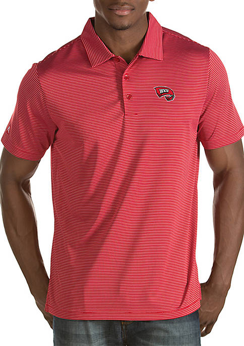Antigua® Short Sleeve Western Kentucky Quest Polo