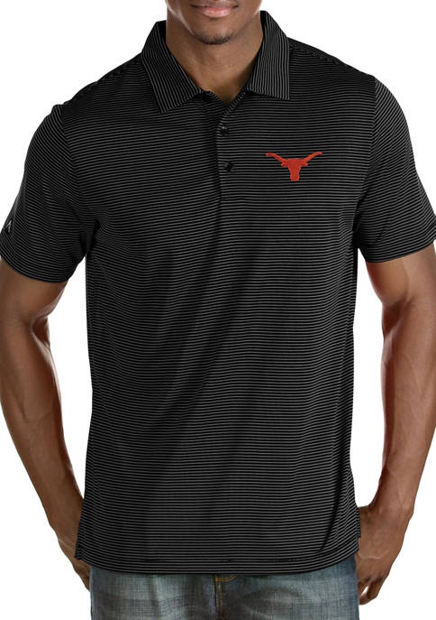 Antigua® Mens NCAA Texas Longhorns Quest Polo