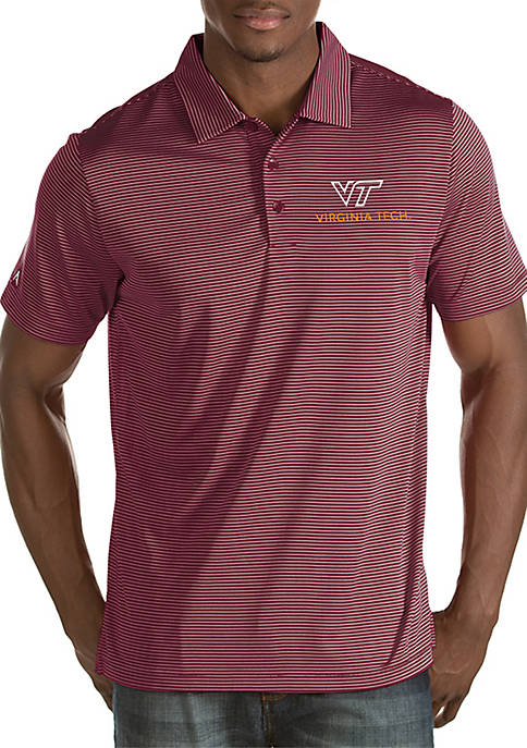 Antigua® Short Sleeve Virginia Tech Quest Polo