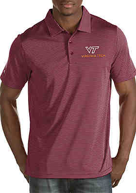 a9fb1d003 Antigua® Short Sleeve Virginia Tech Quest Polo ...