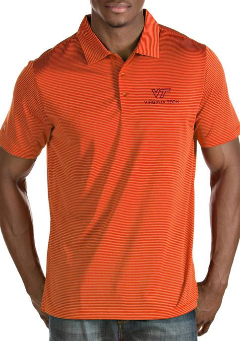 Antigua® Short Sleeve Virginia Tech Quest Polo