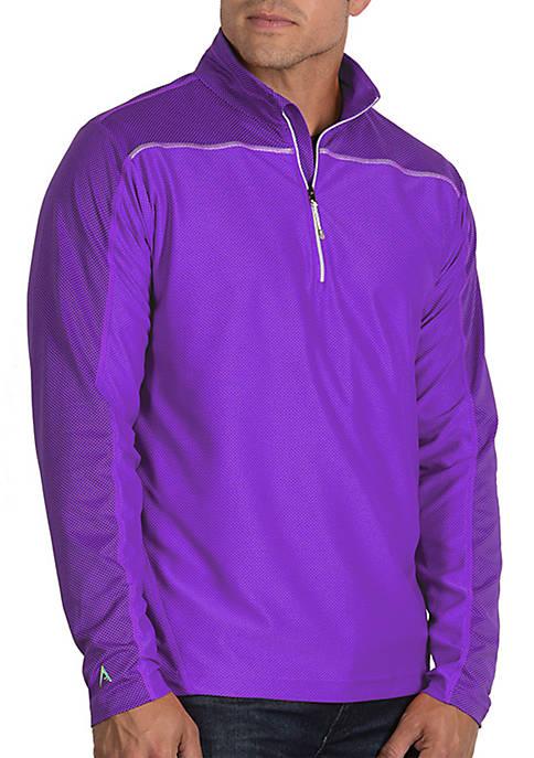 Antigua® Long Sleeve Quarter Zip Pullover