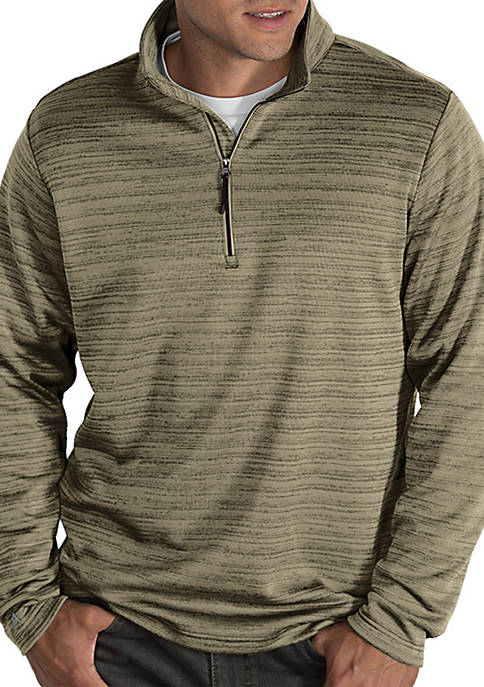 Antigua® Frontier Long Sleeve Quarter Zip jacket