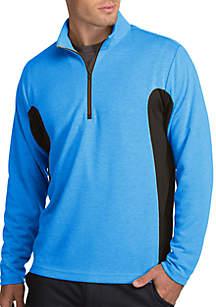 Voyage Long Sleeve Side Splice Quarter Zip Pullover