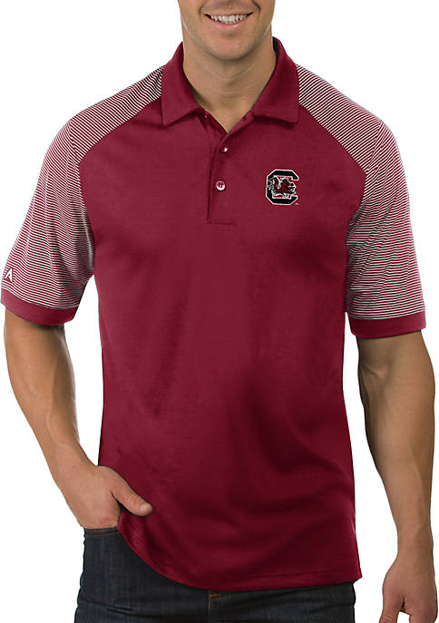 Antigua® USC Gamecocks Engage Short Sleeve Polo