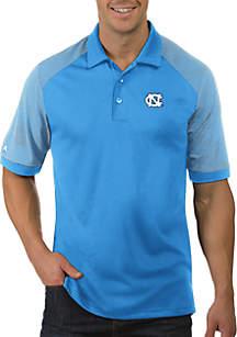 UNC Tar Heels Engage Short Sleeve Polo