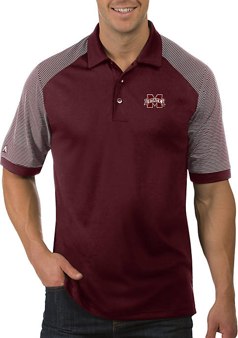 Antigua® Mississippi State Bulldogs Engage Short Sleeve Polo