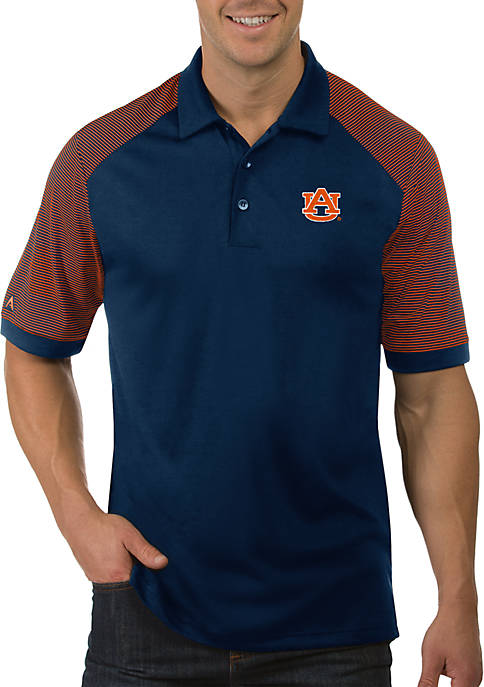 Antigua® Auburn Tigers Engage Short Sleeve Polo