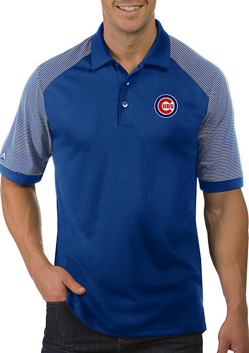7a57f8957a3 Antigua® MLB Chicago Cubs Engage Short Sleeve Polo