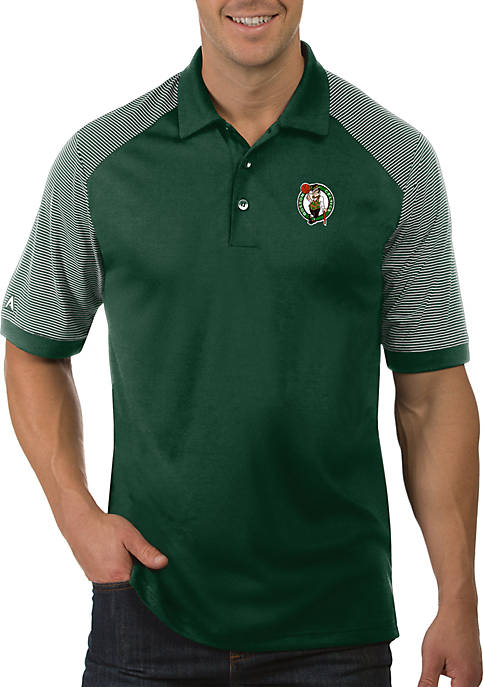 Antigua® NBA Boston Celtics Engage Short Sleeve Polo