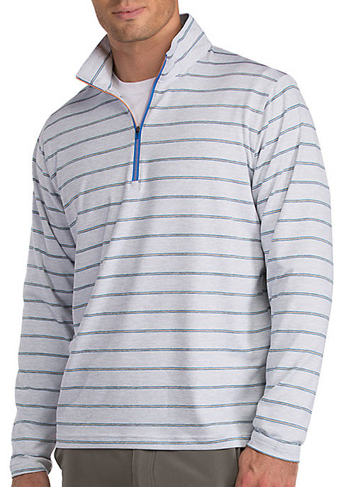 Antigua® Long Sleeve Stratus Quarter Zip Pullover