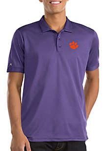 Short Sleeve Clemson Clutch Polo