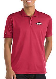 Short Sleeve Arkansas Clutch Polo