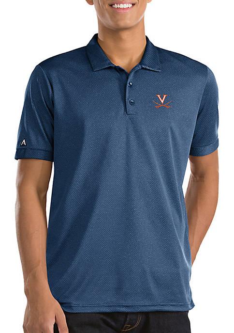 Antigua® Short Sleeve University of Virginia Clutch Polo