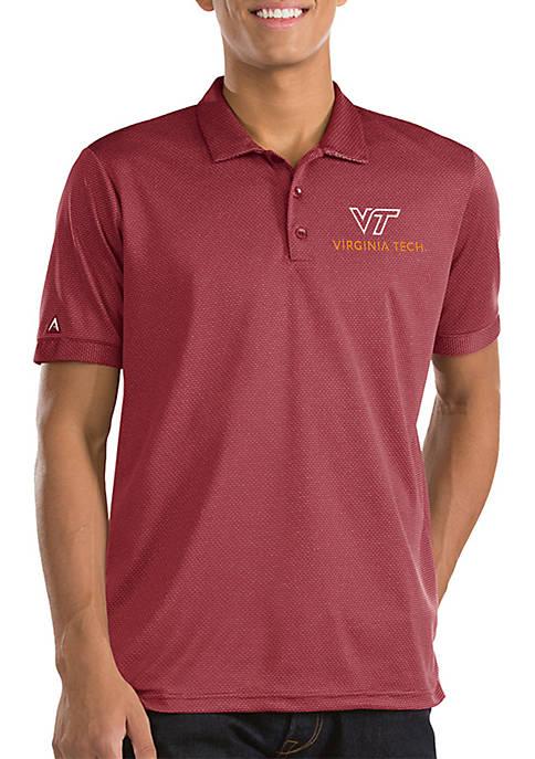 Antigua® Short Sleeve Virginia Tech Clutch Polo