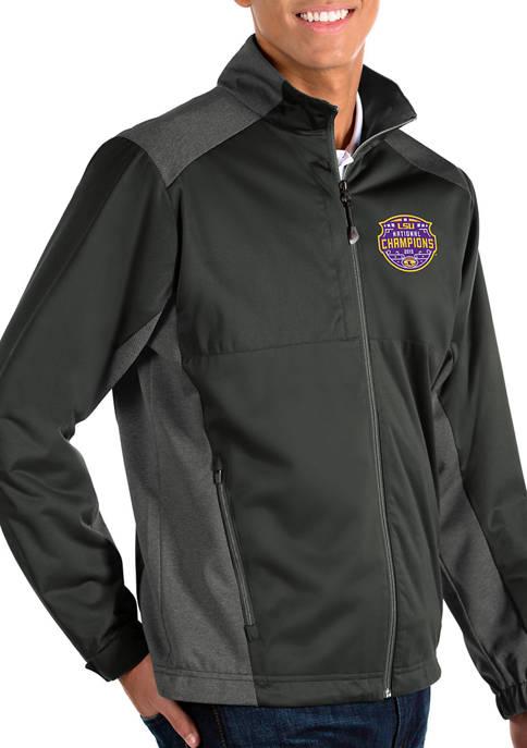 NCAA LSU Tigers 2020 National Champions Long Sleeve Windshirt