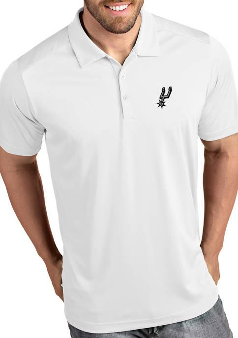 NBA San Antonio Spurs Mens Tribute Polo Shirt