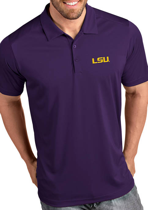 Antigua® LSU Tigers Tribute Short Sleeve Polo