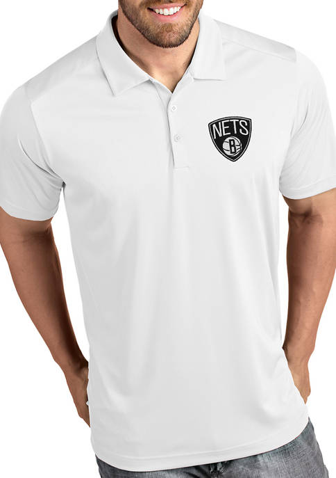 Antigua® NBA Brooklyn Nets Mens Tribute Polo Shirt