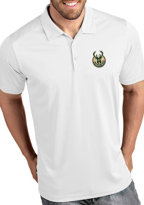 Antigua® NBA Milwaukee Bucks Mens Tribute Polo Shirt