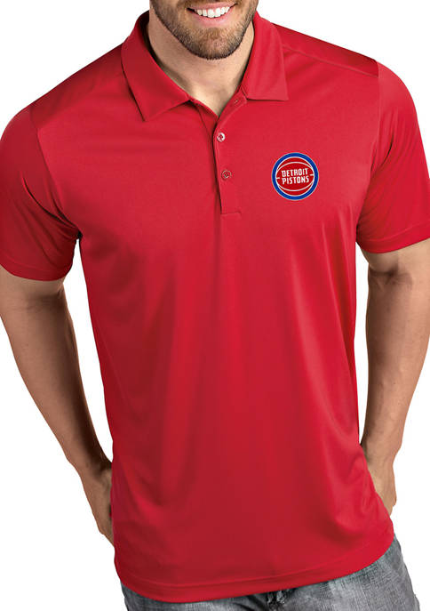 Antigua® NBA Detroit Pistons Mens Tribute Polo Shirt