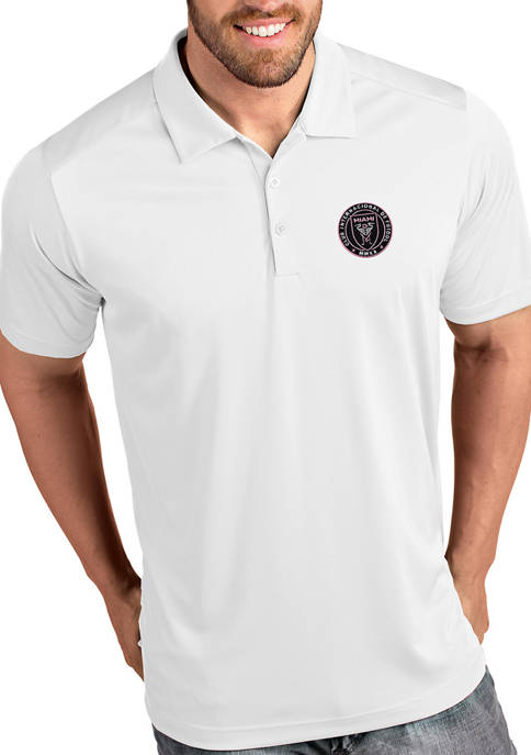 Antigua® Mens MLS Inter Miami FC Polo Shirt