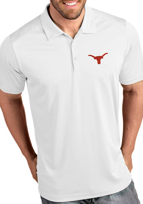 Antigua® Mens NCAA Texas Longhorns Tribute Polo