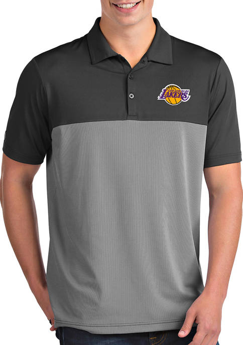 Antigua® NBA Los Angeles Lakers Mens Venture Polo