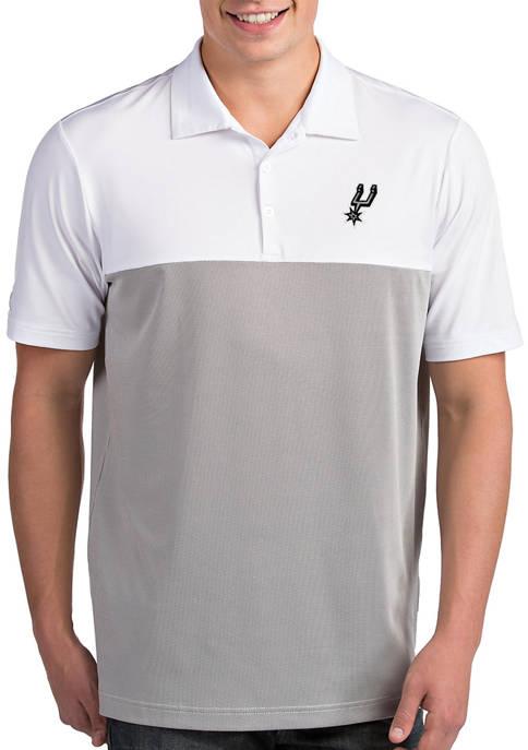 Antigua® NBA San Antonio Spurs Mens Venture Polo