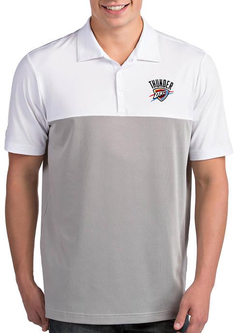 Antigua® NBA Oklahoma City Thunder Mens Venture Polo