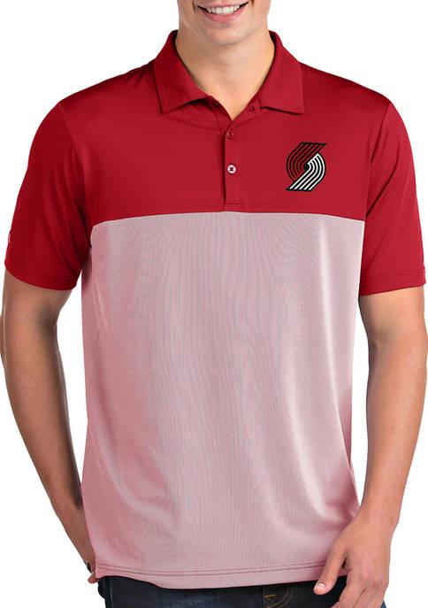 NBA Portland Trail Blazers Mens Venture Polo Shirt