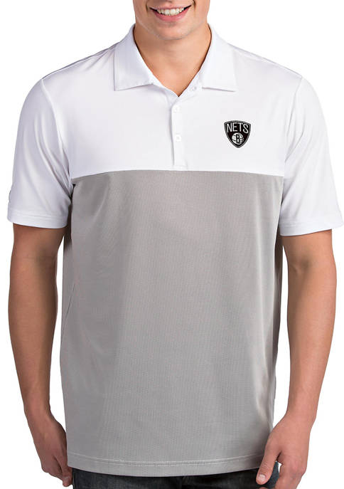 Antigua® NBA Brooklyn Nets Mens Venture Polo