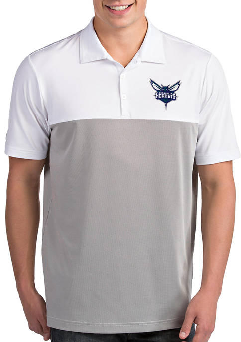 Antigua® NBA Charlotte Hornets Mens Venture Polo