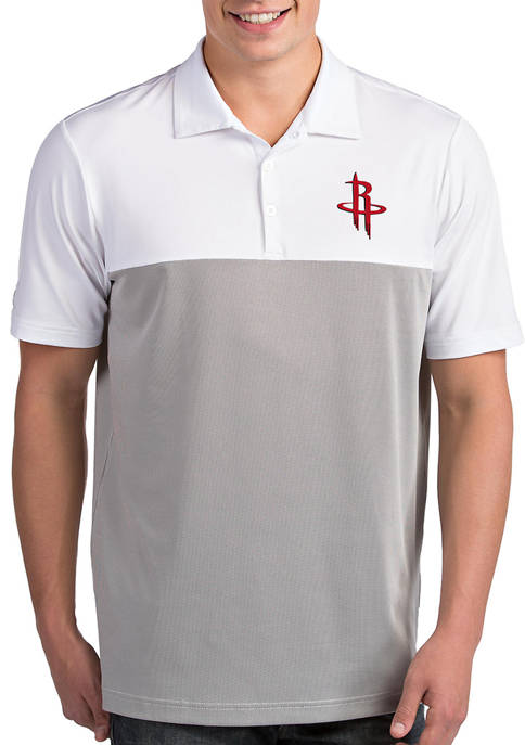 Antigua® NBA Houston Rockets Mens Venture Polo