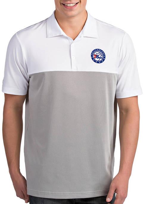 Antigua® NBA Philadelphia 76ers Mens Venture Polo