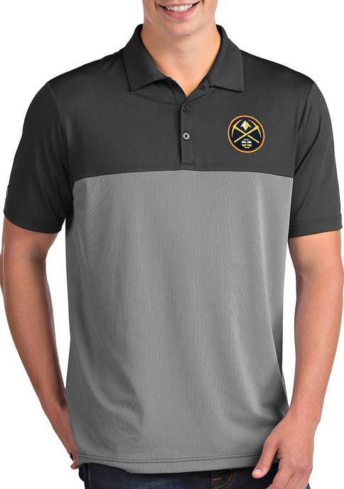 NBA Denver Nuggets Mens Venture Polo