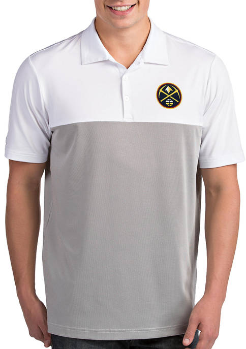 Antigua® NBA Denver Nuggets Mens Venture Polo