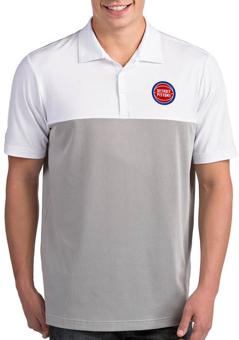 Antigua® NBA Detroit Pistons Mens Venture Polo