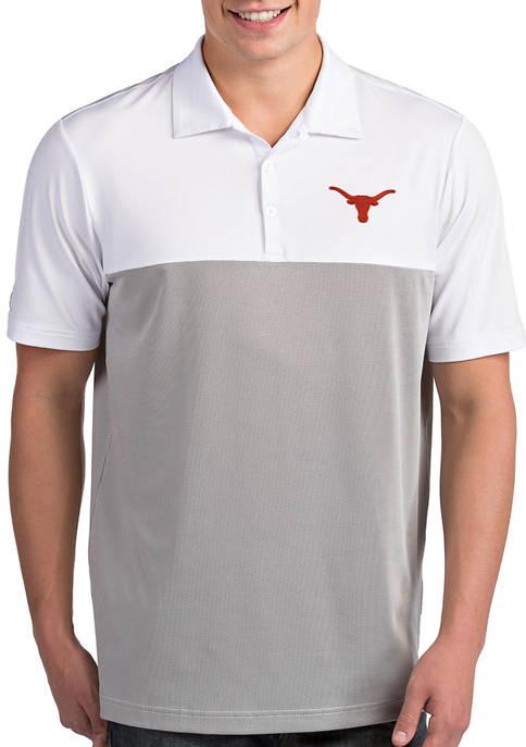 Antigua® Mens NCAA Texas Longhorns Venture Polo