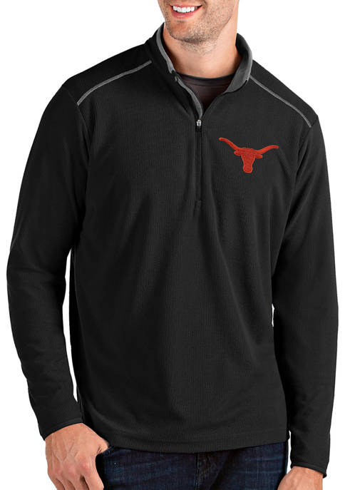 Antigua® Mens NCAA Texas Longhorns Glacier Pullover