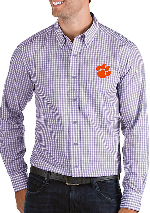 Clemson Structure Woven Shirt